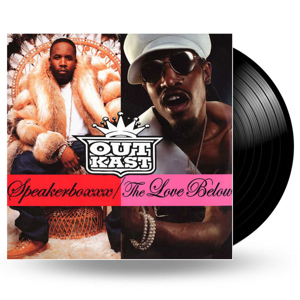 OUTKAST - SPEAKERBOXXX/THE LOVE BELOW - 4LP