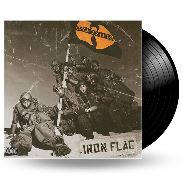 WU-TANG CLAN - IRON FLAG - 2LP