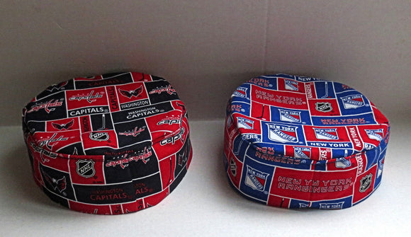 NHL Bucharian kippah pro hockey sports Sephardic yarmulkes