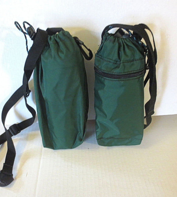 Water bottle bag adjustable sling styling great for travel, on the go, staying hydrated