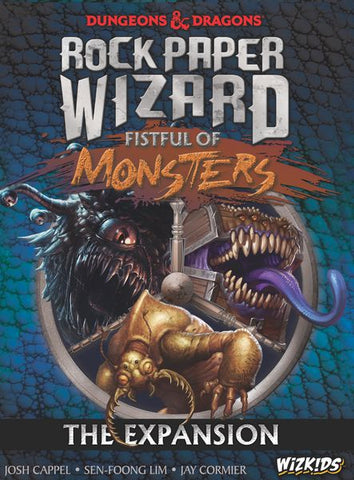 WizKids - Dungeons & Dragons: Rock Paper Wizard - Fist Full of Monsters