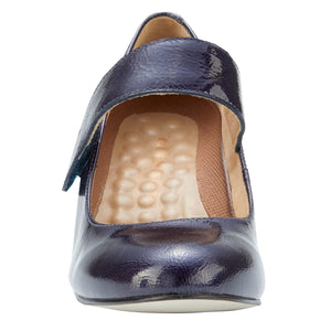 Jackie-2: Navy Tumbled Patent LIMITED STOCK