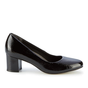 Jessica: Black Tumbled Patent Leather NEW