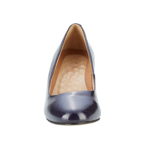 Jessica: Navy Tumbled Patent Leather NEW