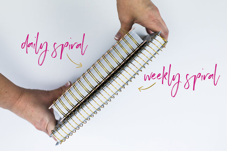 5 Pk. Add-a-page Spiral Snap-in