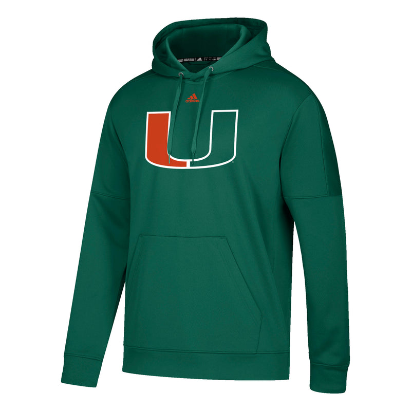 Miami Hurricanes adidas 2018 Primary Ride U Hoodie - Green