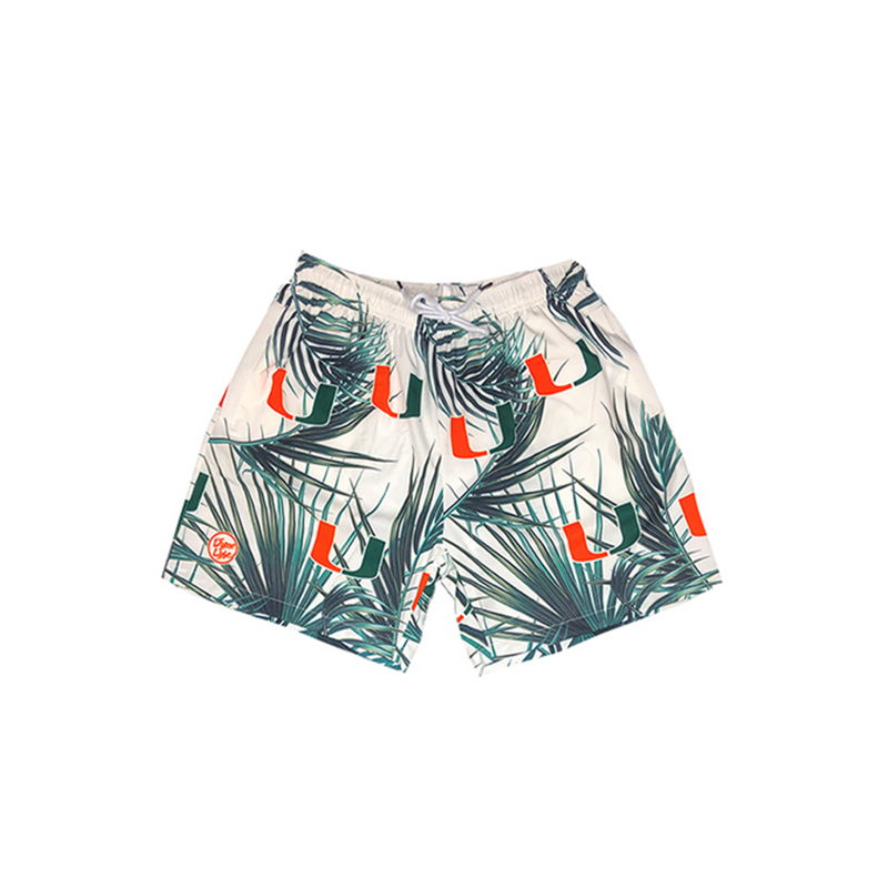 Miami Hurricanes Dyme Lyfe Paradise Trunks