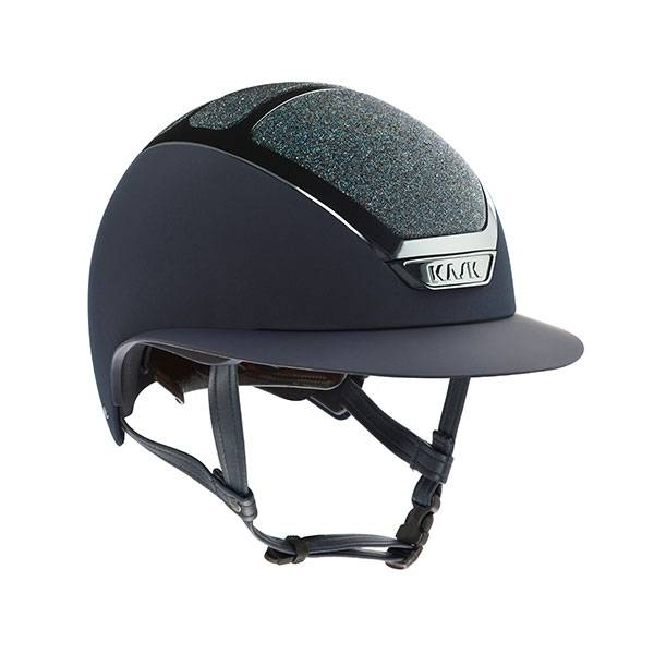 Kask Helmet Navy Star Lady Swarovski Carpet