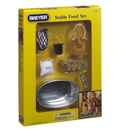 Breyer Stable Feeding Set