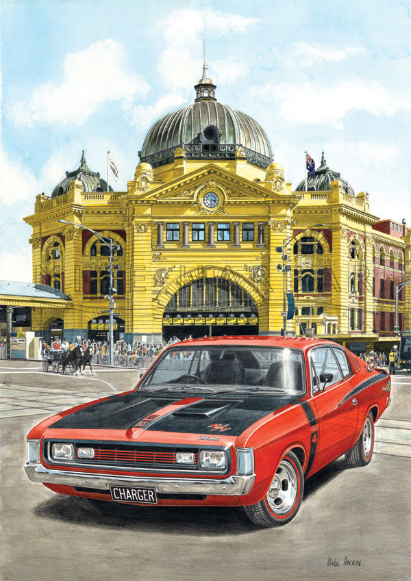 Chrsyler Charger at Flinders Street