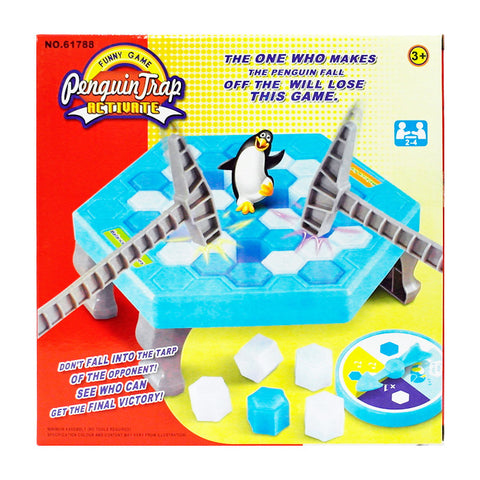 Penguin Trap Game