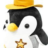 Penguin Police Plush