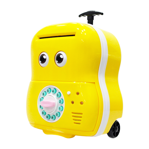 Mini Luggage Coin Bank (with Sound and Light)