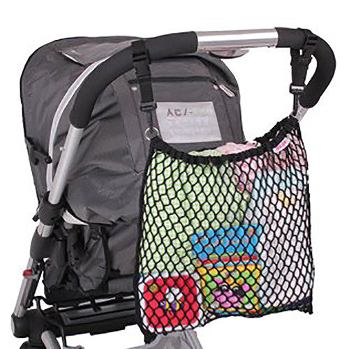 Pushchair Net Bag - Black