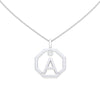 Personalised-Initial-A-diamond-white-gold-pendant-by-Sydney-jewellers-Lizunova