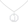 Personalised-Initial-J-diamond-white-gold-pendant-by-Sydney-jewellers-Lizunova