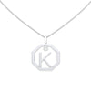 Personalised-Initial-K-diamond-white-gold-pendant-by-Sydney-jewellers-Lizunova