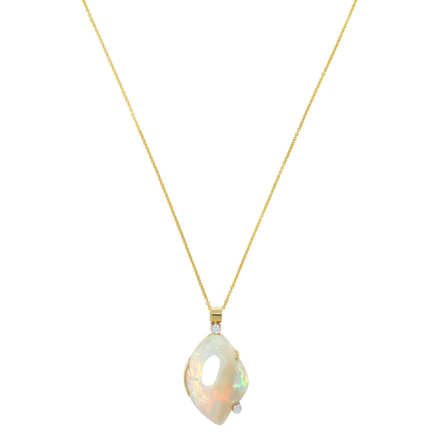 Opal-diamond-pendant-gold-chain-Sydney-jewellers-Lizunova