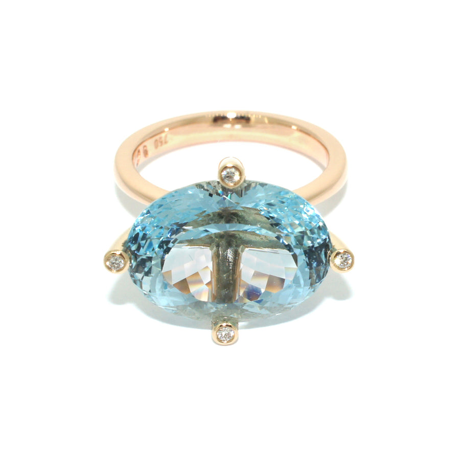 Aquamarine-rose-gold-cocktail-ring-handmade-in-sydney-by-jeweller-lizunova