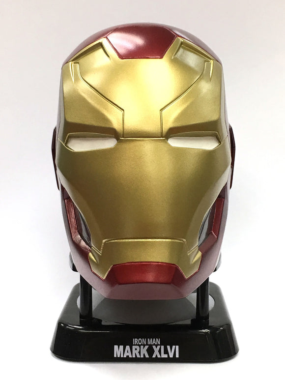 Avengers Iron Man Mk46 Helmet Mini Bluetooth Speaker - HERO AUDIO