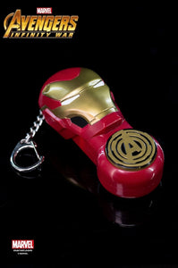 Avengers 3 Infinity War Iron Man - Keychain With Small Flashlight - HERO AUDIO