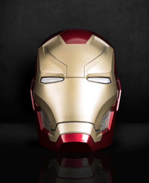 IRON MAN MARK 46 (MK46) HELMET LIFT-SIZE (1:1) BLUETOOTH SPEAKER - HERO AUDIO
