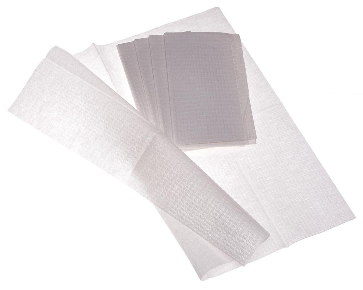 2-Ply Tissue/Poly Professional Towels,White, Case of 500
