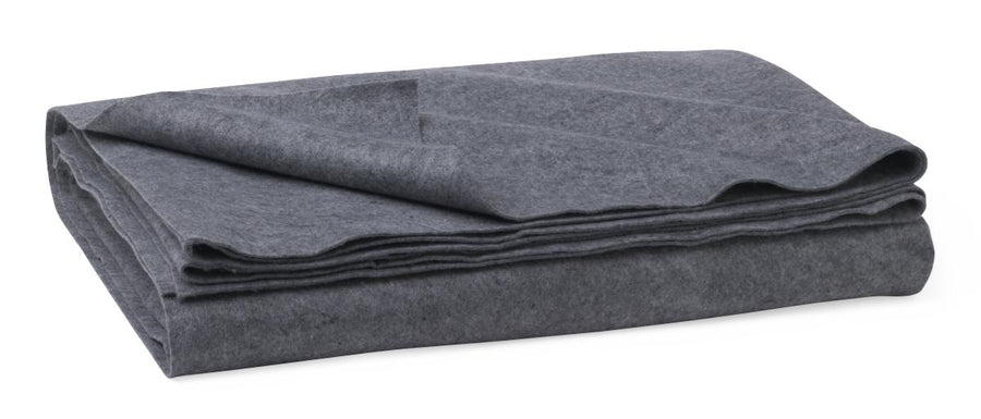 Disposable Blanket,Gray, Case of 10