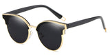 GoldnBlack Main ZILOE Vitality Cool Oval Sunglasses