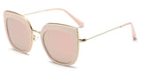 RoseMirror Main ZILOE Retro C Polarised Designer Oversized Sunglasses
