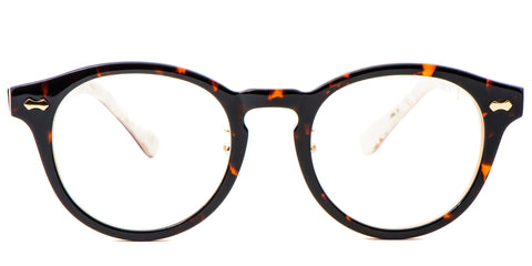 IvoryTortoise Main ZILOE Vive Acetate Vintage Round Prescription Optical Glasses