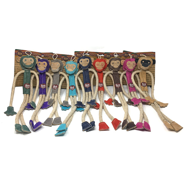 OUT OF STOCK Milo the Monkey - Natural Eco-Friendly Dog Toys - OUT OF STOCK