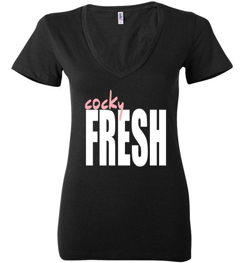 The Cocky Fresh Tee (Ladies)