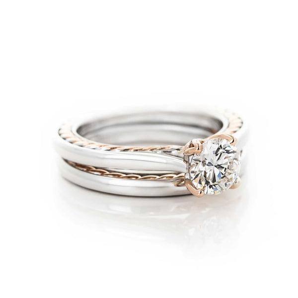 Burnside Two Tone Wedding Set