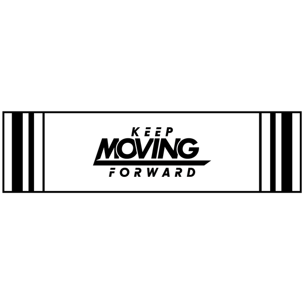 Keep Moving Forward Bumper Sticker