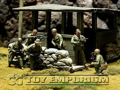 """BRAND NEW"" Custom Built & Painted 1:35 US Navy Seal Team 6 ""Operation Geronimo"" Set (6 Figure Set)"