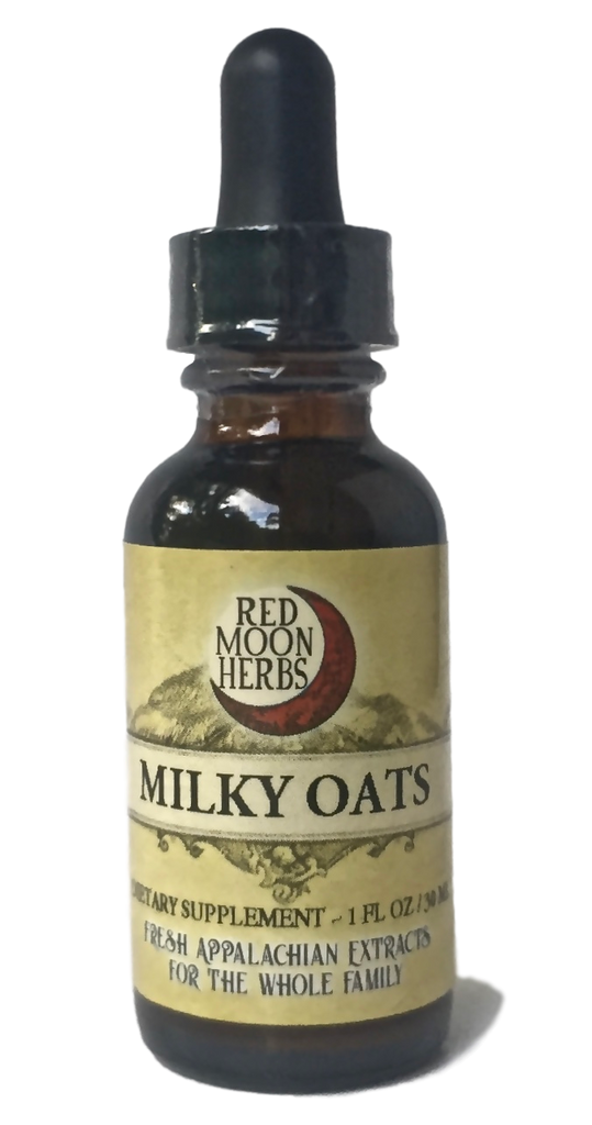 Milky Oats (Avena sativa) Herbal Extract for Stress, Nervous System and Adrenal Health