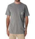 Red Drum Short Sleeve Classic Tee - Hurricane Grey