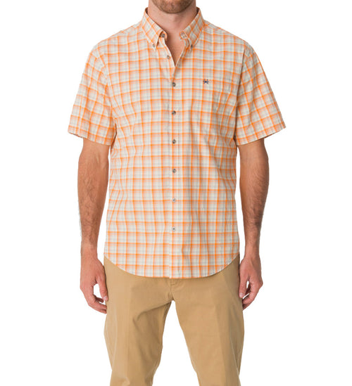 short sleeve button down shirt - tybee dress shirt