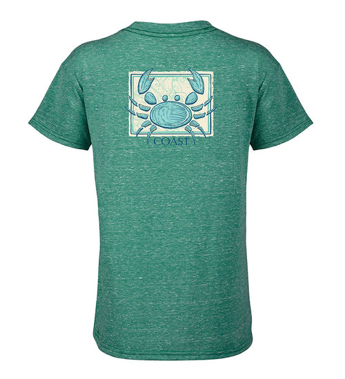 Kids Graphic T-Shirt with sketch crab on back