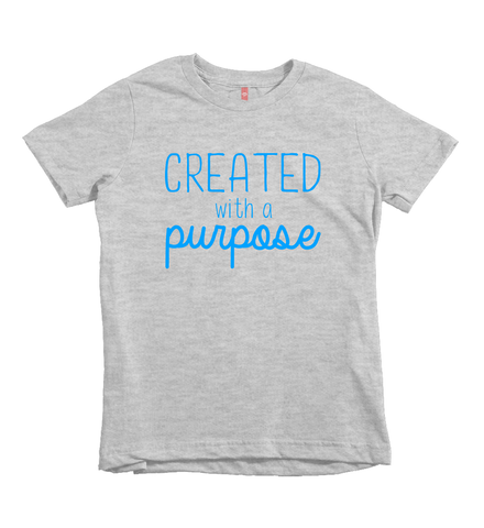 """Created With a Purpose"" Unisex Fit Tee"