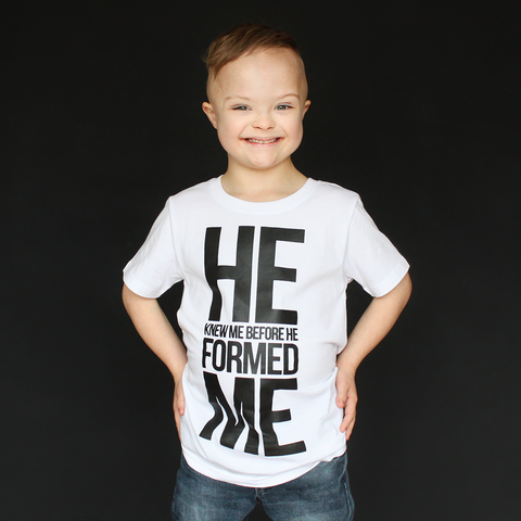 """He Knew Me"" Unisex Fit Tee - The Talking Shirt"