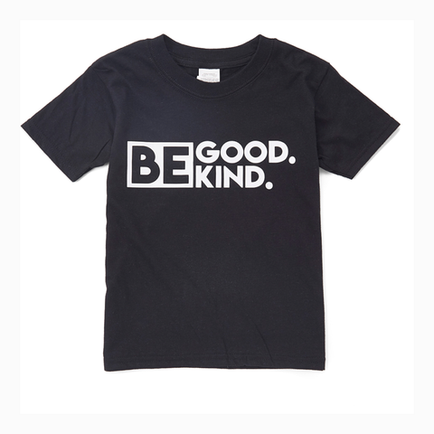 """Be Good. Be Kind."" Youth Unisex Fit Tee"