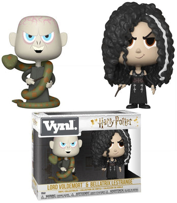 Funko Harry Potter Vynl. Lord Voldemort & Bellatrix Lestrange Vinyl Figure 2-Pack