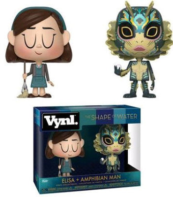 Funko Shape of Water Vynl. Elisa & Amphibian Man Vinyl Figure 2-Pack