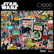 Buffalo Games Star Wars Classic Comic Books 1000 Piece Jigsaw Puzzle