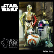 Buffalo Games Star Wars Droids 300 Large Piece Jigsaw Puzzle