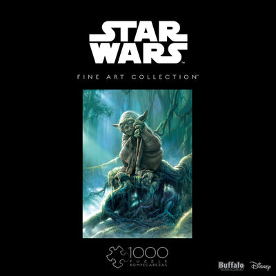 Buffalo Games Star Wars Fine Art Collection Yoda 1000 Piece Jigsaw Puzzle