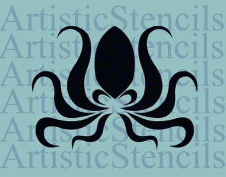 Octopus Stencil - Various sizes