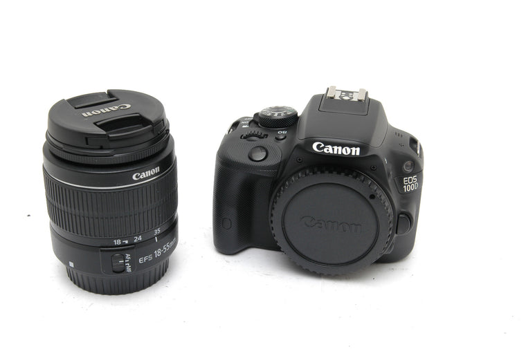 Used Canon EOS 100D with EF-S 18-55mm f3.5-5.6 III